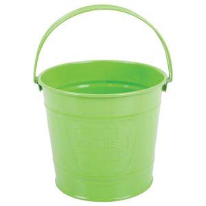 Детска метална кофичка за градината Bigjigs – зелена MTBJ295 1