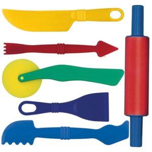 Детски комплект за моделиране с инструменти Bigjigs MTGW18515 1