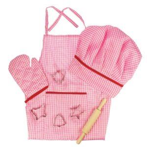 Детски розов костюм готвач Bigjigs MTBJ609 1