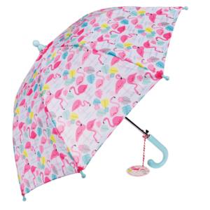 Детски стилен чадър Фламинго - Rex London