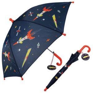 Детски чадър Космически ракети - Rex London