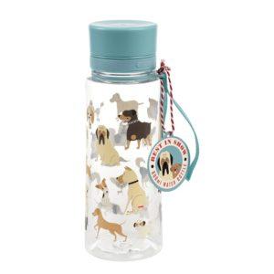 Детско шише за вода Кученца 600мл - Rex London