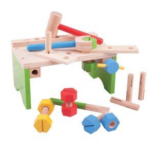Дървена детска работилница Bigjigs MTBJ689 1