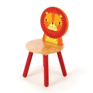 Дървено детско столче лъвче Bigjigs MTT0203 1