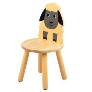 Дървено детско столче овчица Bigjigs MTT0623 1