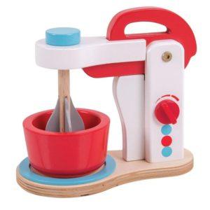 Детска играчка дървен миксер Bigjigs MTBJ405 1