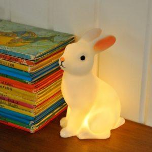 Детска нощна лампа Зайче - Rex London