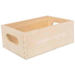 Играчка дървена касетка за плодове и зеленчуци Bigjigs MTBJF097 1