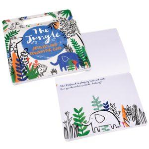 Книжка за оцветяване и активности Джунгла - Rex London