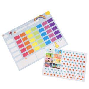 Комплект детска таблица за награждаване Bigjigs MTBJ190 1