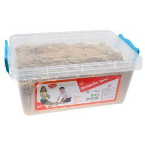 Кутия с Натурален кинетичен пясък 5 кг Bigjigs MTGW18540 1