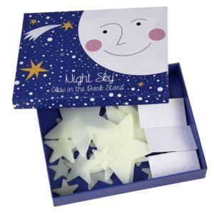 Светещи в тъмното стикери Звезди - Rex London