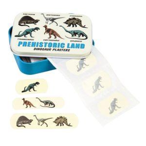 Лепенки за рани Динозаври в метална кутийка - Rex London