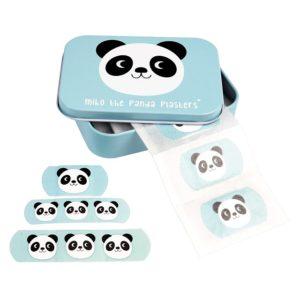 Лепенки за рани Панда в метална кутийка - Rex London