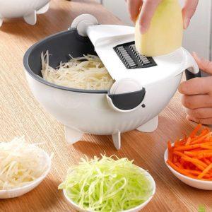 Мултифункционална купа с ренде и цедка Magic Vegetable Cutter 8 в 1