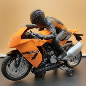 Детска играчка мотор с моторист на батерии AutoBike 1
