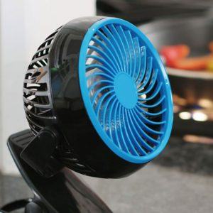 Преносим мини вентилатор с щипка Go Fan