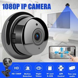 Мини панорамна камера Wi-fi Camera V380
