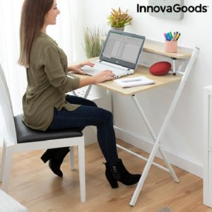 сгъваемо бюро за лаптоп InnovaGoods Tablezy